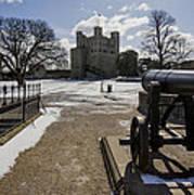 Rochester Castle Art Print