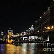 Roebling Suspension Bridge 9939 Art Print