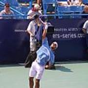 Roger Federer After 1st Slam Art Print