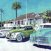 Romancing On San Diego Avenue Art Print