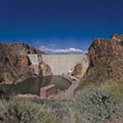 Roosevelt Dam Arizona Art Print