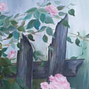 Roses Art Print by Glenda Barrett