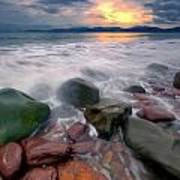 Rossbeigh Beach Art Print