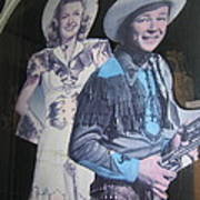 Roy Rogers And Dale Evans #2 Cut-outs Tombstone Arizona 2004 Art Print