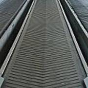 Rubber Industrial Conveyer Art Print