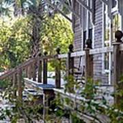 Rustic Country Front Porch Art Print