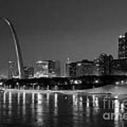 Saint Louis Skyline Art Print
