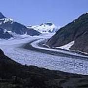 Salmon Glacier Art Print