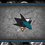 San Jose Sharks Art Print
