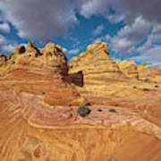 Sandstone Vermillion Cliffs N Art Print