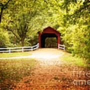 Sandy Creek Covered Bridge Art Print
