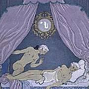 Scene From 'les Liaisons Dangereuses' Art Print