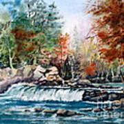 Scenic Falls Art Print