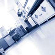 Scientist Working In A Laboratory Art Print