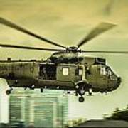 Sea King Helicopter Art Print