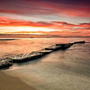 Sea Sunrise Art Print