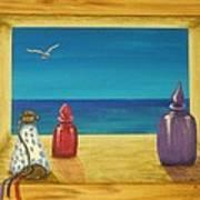 Sea View One Art Print