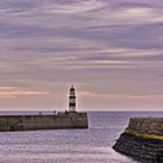 Seaham Harbour Art Print