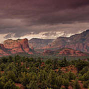 Sedona Red Rocks  Art Print