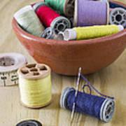 Sewing Supplies Art Print