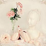 Shabby Chic Ballet Art Print
