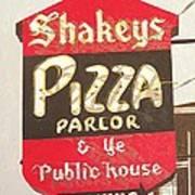 Shakey's Pizza Art Print