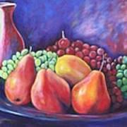 Simple Abundance Art Print by Eve  Wheeler