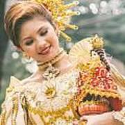 Sinulog Festival In Cebu Of Philippines Art Print
