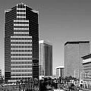 Skyline Of Tucson Az Art Print
