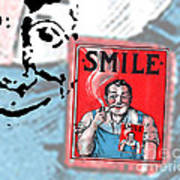 Smile Print by Edward Fielding