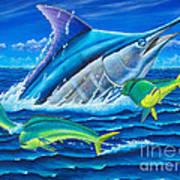 South Side Blue Art Print