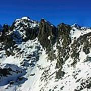 Southern Alps New Zealand Art Print