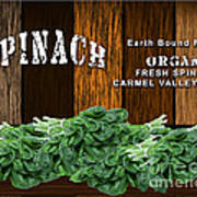 Spinach Patch Art Print