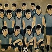 Spock Soccer Team Art Print Art Print