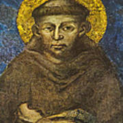 St Francis Art Print