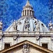 St Peter In Vatican Art Print