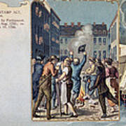 Stamp Act Riot, 1765 Art Print