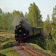 Steam Locomotive Art Print