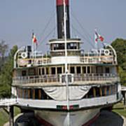 Steamboat Ticonderoga Art Print