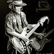 Stevie Ray Vaughan 1984 Art Print