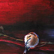 Still Life - Original Painting. Part Of A Diptych Art Print by Tanya Byrd