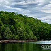Stonewall Jackson Lake Wildlife Management Area Art Print