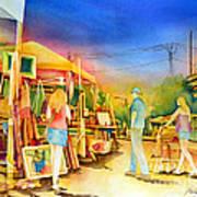 Street Art Fair Art Print