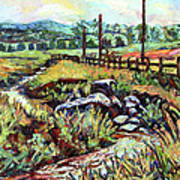 Stroubles Creek Art Print