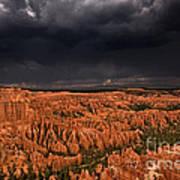 Summer Thunderstorm Bryce Canyon National Park Utah Art Print