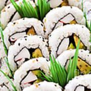 Sushi Platter Art Print