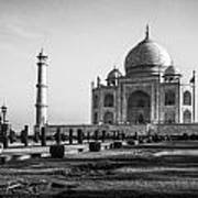 Taj Mahal Agra Art Print