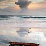 Talisker Bay Sunset Art Print