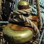 Tall Ship Rigging Art Print