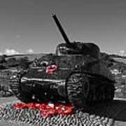 Tank Memorial Art Print
